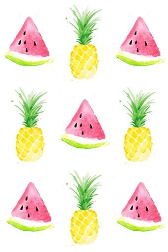 watermelon-pineapple-wallpaper